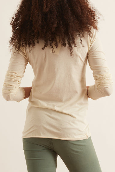 Sarix M/L Basic Top in Winter White
