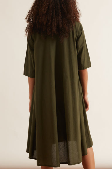 Tauro Dress in Olive