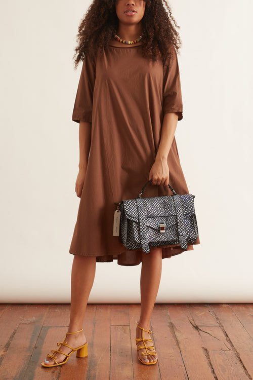 Tauro Sushi Dress in Cognac