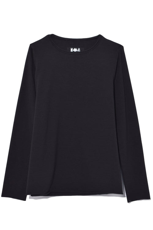 Jeppe Jersey Top in Black