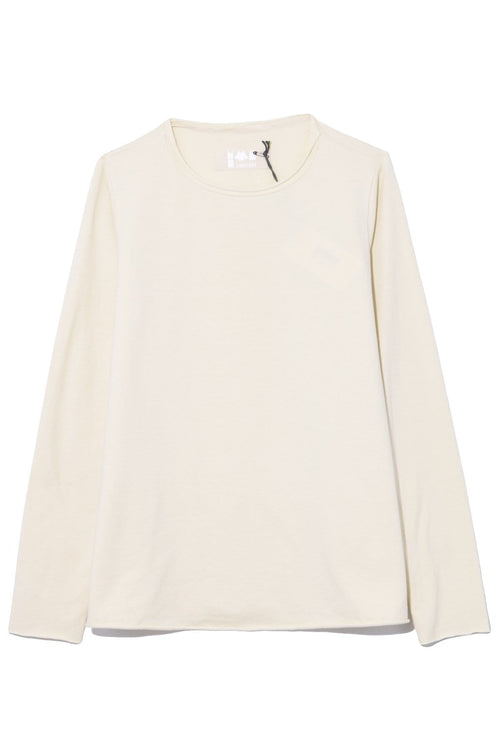 Jeppe Jersey Top in Winter White