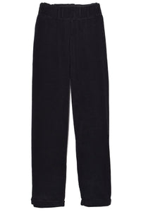 Paride Velluto Pant in Black