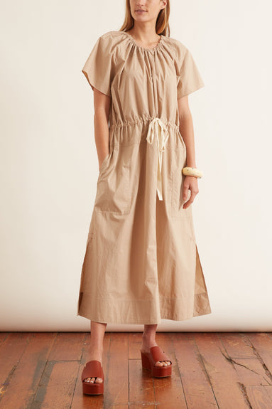 Tee Dress in Sand