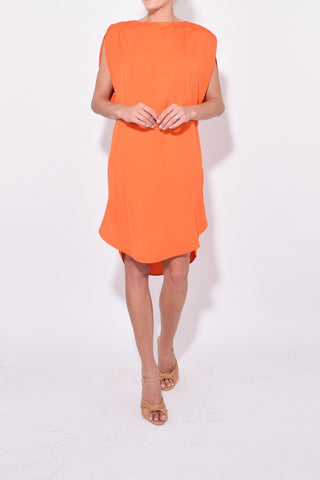 Didion Scoop Back Tunic in Mandarin