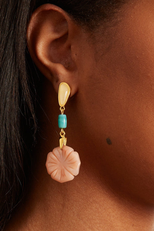 Bloomscape Earrings in Multi