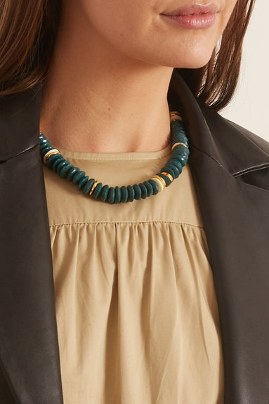 Laguna Necklace in Hunter