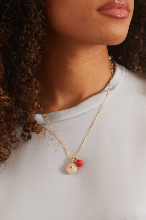 Strawberry Oasis Necklace