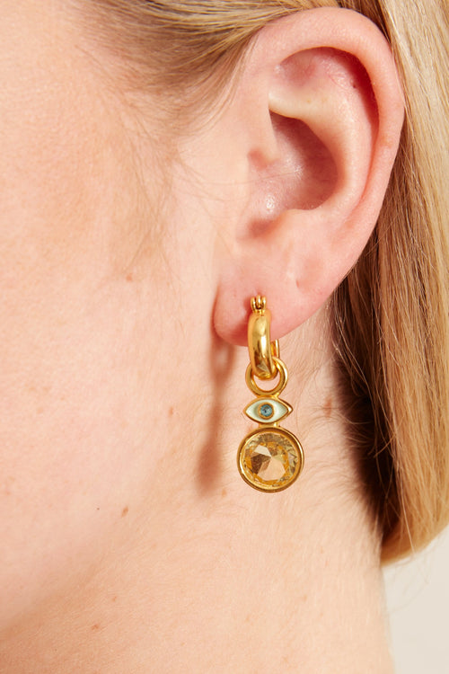 Twinkle Eye Earrings in Multi