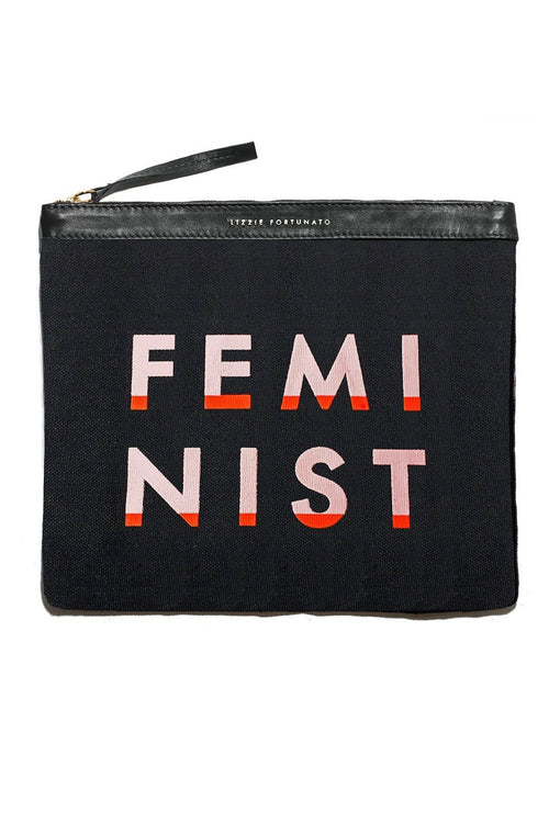 Oversized Pouch in Feminist