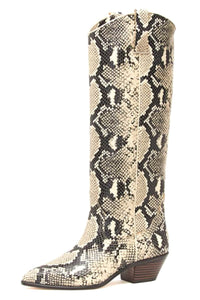Dylan Tall Western Boot in Sand