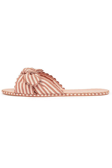 Shirley Sandal in Brique/Blush