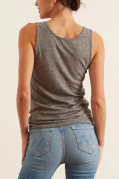 Alicudi Tank in Grey Melange