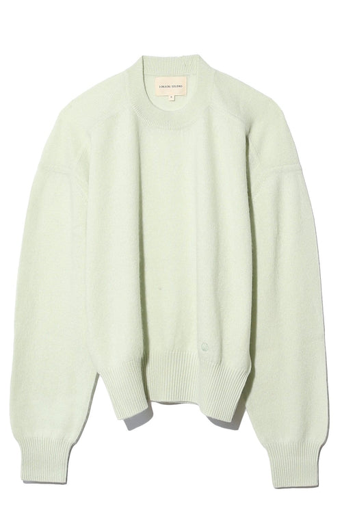 Arutua Cashmere Sweater in Light Green