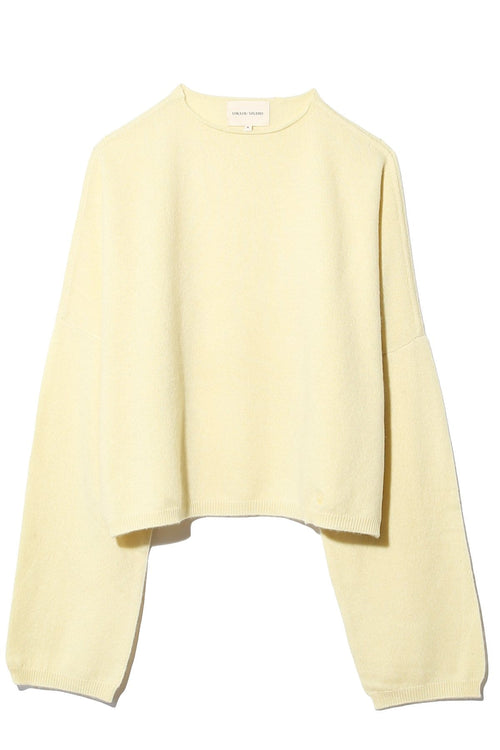 Fakarava Oversized Sweater in Light Yellow
