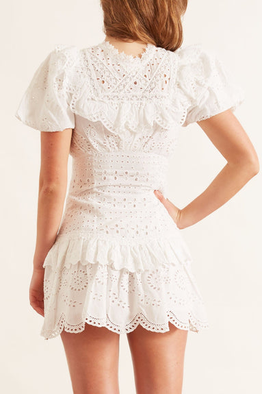 Fritzi Dress in Antique White