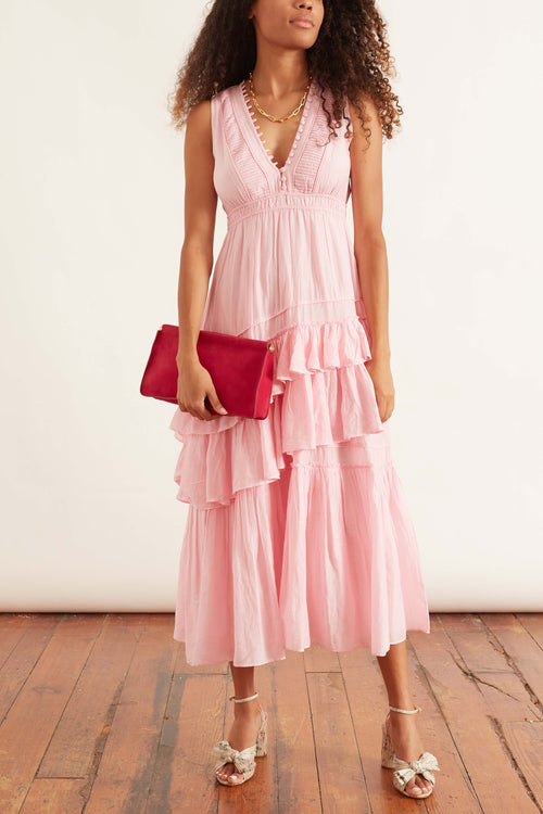 Jordie Dress in Pink Blossom