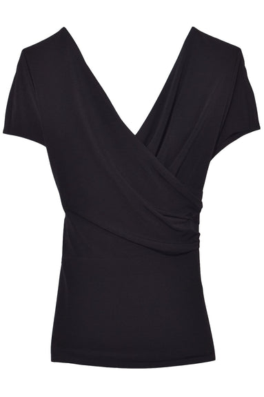 Crepe Top in Black