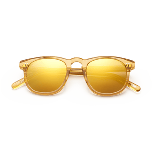 #001 Mirror Sunglasses in Mango