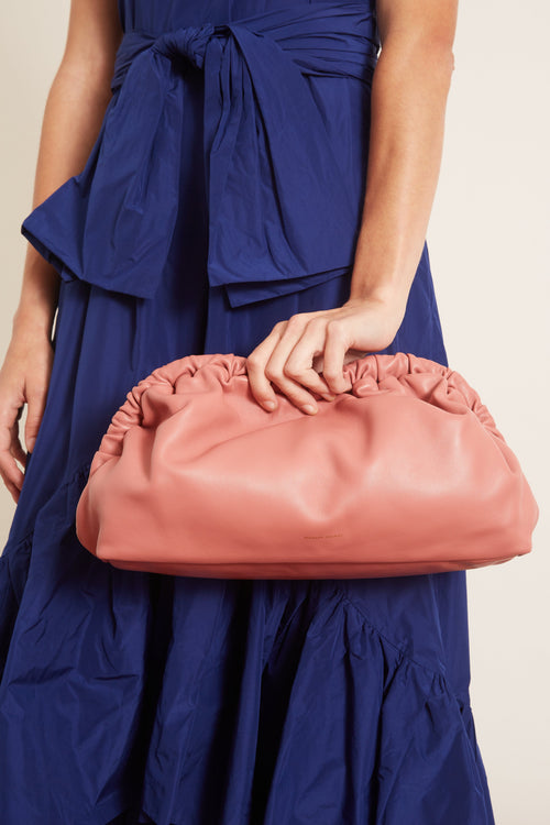 Cloud Clutch in Blush