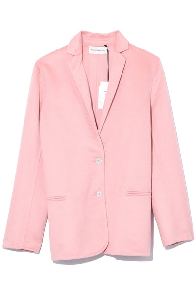Double Faced Cashmere Jacket in Blush