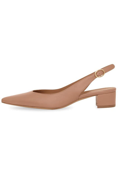 Lamb Slingback in Taupe