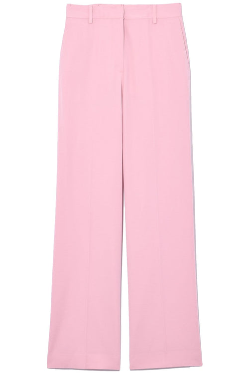 Straight Tailored Pant in Blush