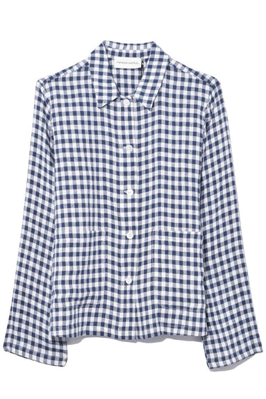 Worker Shirt in Blu Gingham