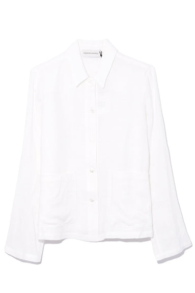 Worker Shirt in White