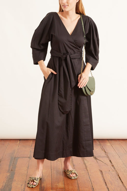 Agnella Dress in Black