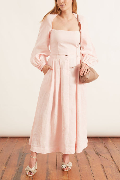 Moon Top in Blush