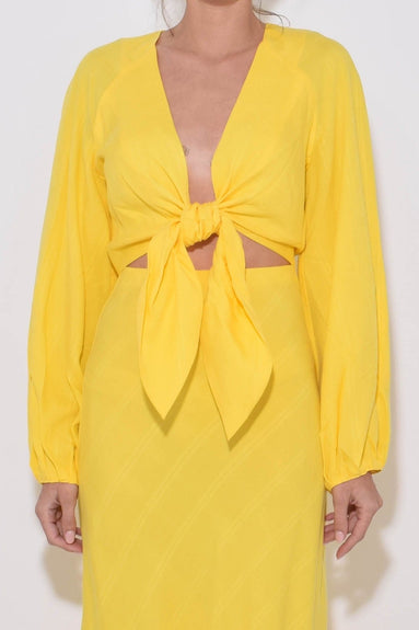 Gianna Top in Yellow