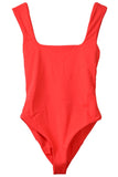 Persephone Swimsuit in Red Coat