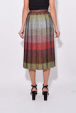 Pleated Skirt in Prince of Wales