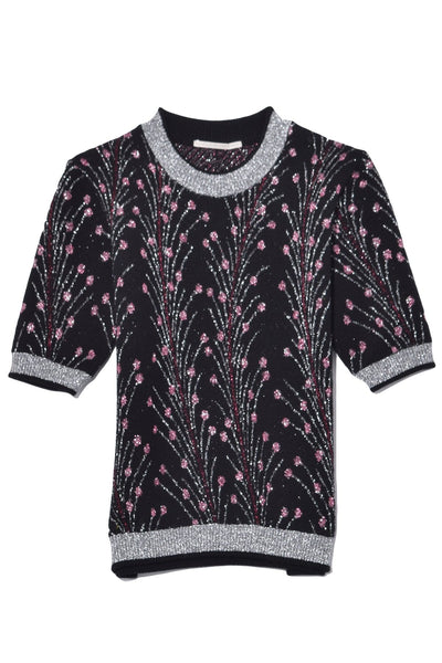 Knit T-Shirt in Anemoni