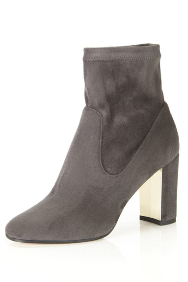 Kate Boot in Smoke Suede