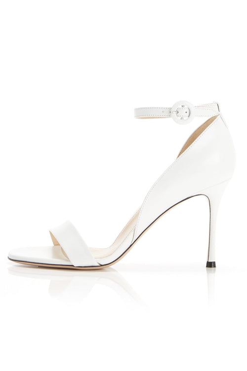 Larkspur Sandal in White
