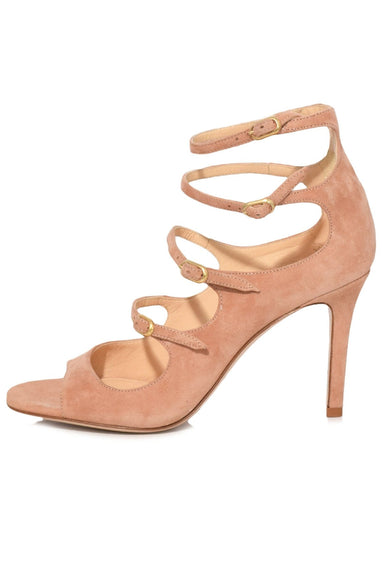 Lennox Sandal in Blush