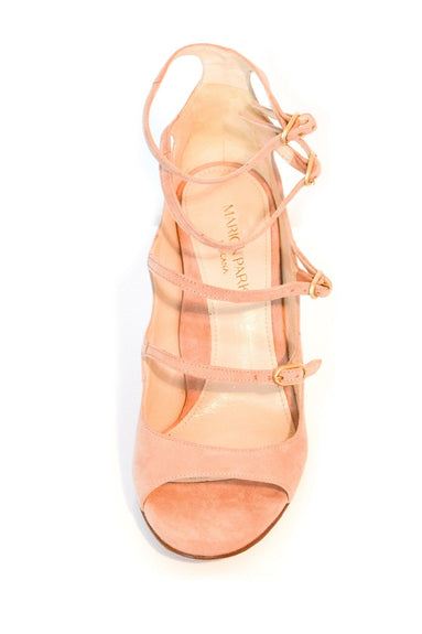 Lennox Sandal in Buff