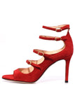Lennox Sandal in Red