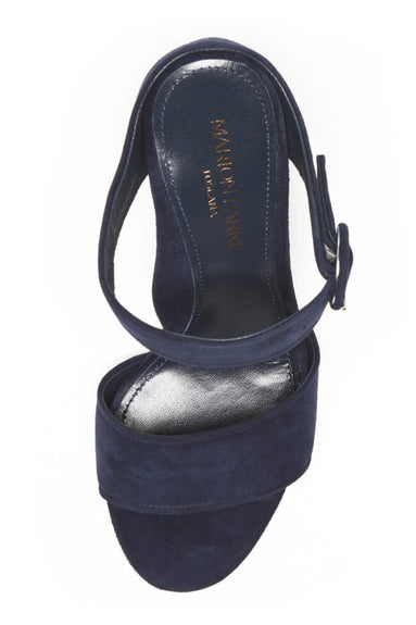 Lora Heel in Navy