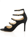 Lennox Sandal in Black