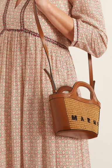 Micro Tropicalia Bag in Raw Sienna