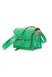 Shopping Crossbody Bag in Sea Green