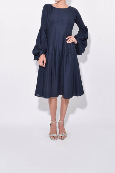 Arashiyama Dress in Navy