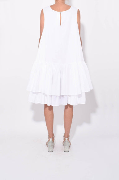 Cevennes Dress in White