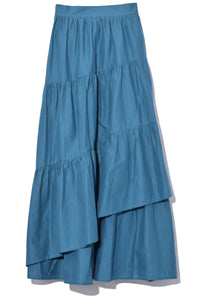 Hallerbos Skirt in Teal