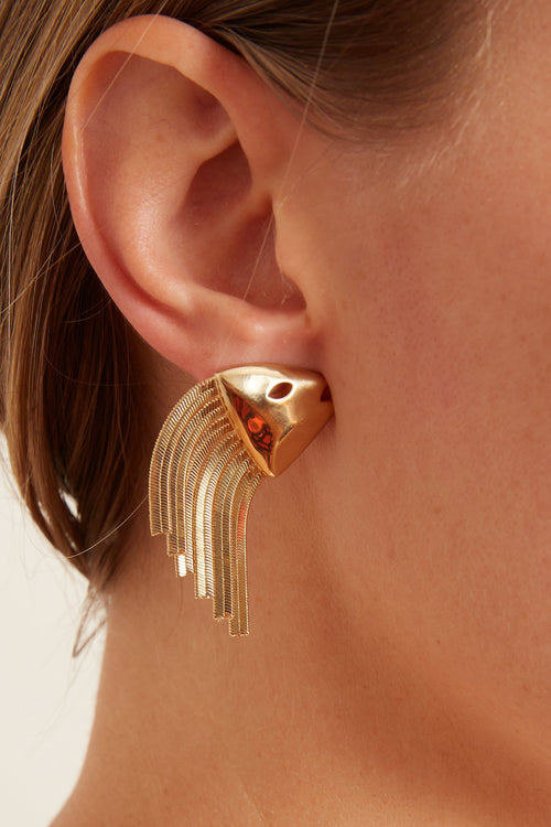 Goldie Earring in Gold