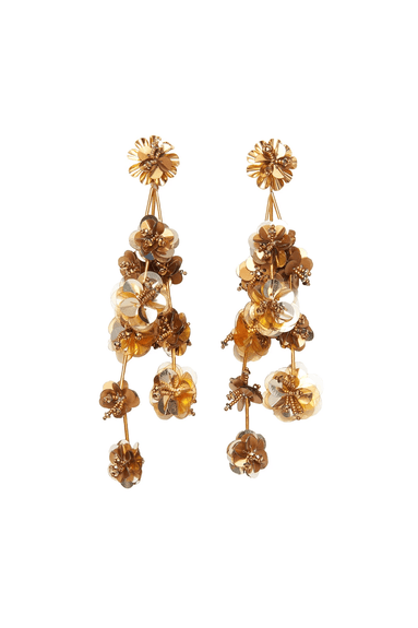 Britta Earrings in Gold