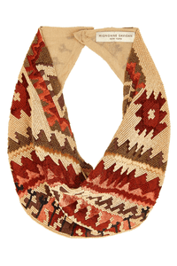 Kilim Necklace in Nude