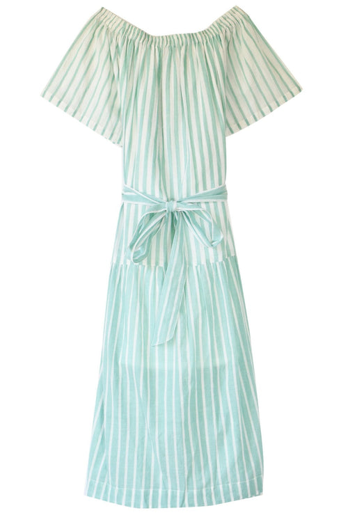 Les Rayures Dress in Green